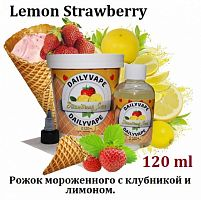 Жидкость Daily Vape - Lemon Strawberry (120 мл)