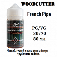 Жидкость WoodCutter - French Pipe 80 мл