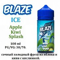 Жидкость Blaze - ICE Apple Kiwi Splash (100мл)