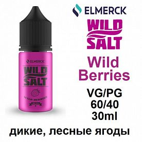 Жидкость  Wild Salt - Wild Berries (30мл)