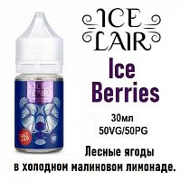 Жидкость Ice Lair salt - Ice Berries 30мл.